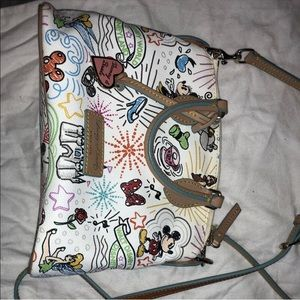 Dooney and Bourke Disneyland print bag